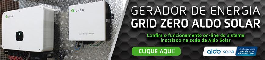 Monitoramento do Sistema Grid Zero Aldo Solar