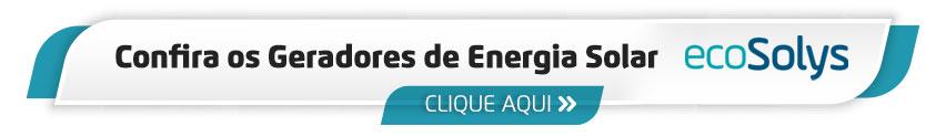 Gerador Energia Solar com Inversor EcoSolys
