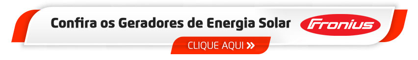 Gerador de Energia Solar com Inversor Fronius