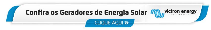 Gerador Energia Solar com Inversor Victron